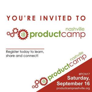 ProductCamp Nashville 2017