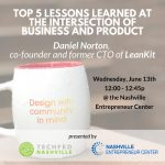 Lunch & Learn Series Shares Product Development Expertise